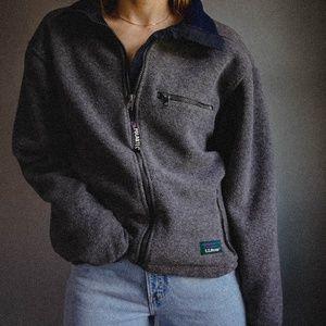 Vintage L.L. Bean Fleece Jacket